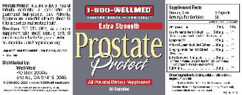 1-800 WellMed Prostate Protect - allnatural supplement