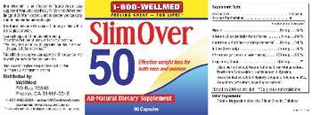 1-800 WellMed Slim Over 50 - allnatural supplement