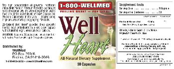 1-800 WellMed Well Heart - allnatural supplement
