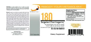 180 Body Clinic 180 Targeted Thermogenic - supplement