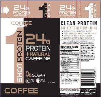 1Shot Protein LLC 1Shot Protein Coffee -