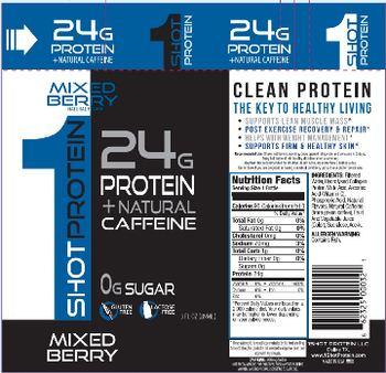 1Shot Protein LLC 1Shot Protein Mixed Berry -