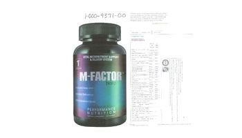 1st Phorm M-Factor Hero - supplement