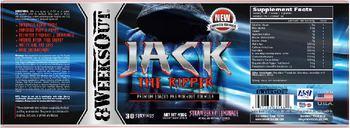 8WeeksOut Jack The Ripper Strawberry Lemonade - supplement