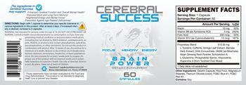 Bonus International Cerebral Success - supplement