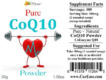 CureEase Pure CoQ10 Powder -