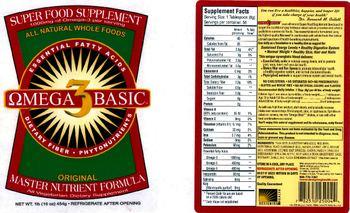 Designing Health Omega 3 Basic - all vegetarian supplement
