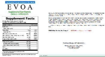 EVOA AREDS2 Eye Vitamins Plus Omega-3 -
