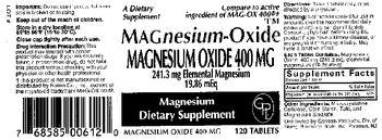 Rising Magnesium-Oxide - magnesium supplement