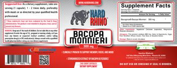 Hard Rhino Bacopa Monnieri 300 mg - supplement