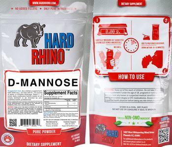Hard Rhino D-Mannose - supplement