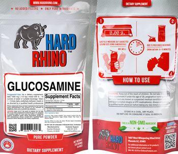 Hard Rhino Glucosamine - supplement