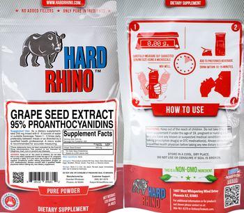 Hard Rhino Grape Seed Extract 95% Proanthocyanidins - supplement