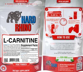 Hard Rhino L-Carnitine - supplement
