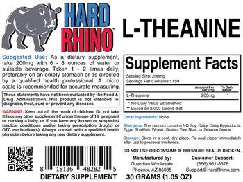 Hard Rhino L-Theanine -