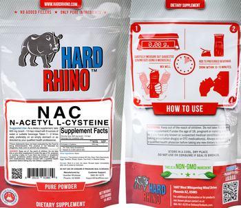 Hard Rhino N-Acetyl L-Cysteine - supplement