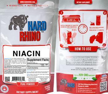 Hard Rhino Niacin - supplement