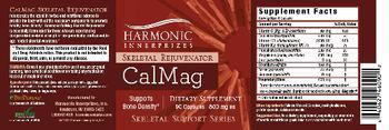 Harmonic Innerprizes CalMag Skeletal Rejuvenator - supplement