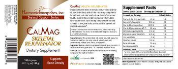 Harmonic Innerprizes, Inc. CalMag Skeletal Rejuvenator - supplement