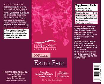 Harmonic Innerprizes N-Fuzed Estro-Fem - supplement