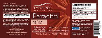 Harmonic Innerprizes Paractin MSM - suppelement