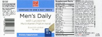 Harris Teeter Men's Daily - supplement