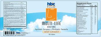 HBC Protocols Multi-Life - supplement