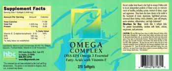 HBC Protocols Omega Complex -