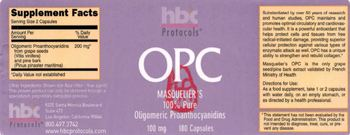 HBC Protocols OPC -