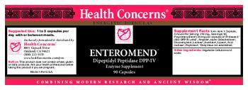 Health Concerns Enteromend - enzyme supplement