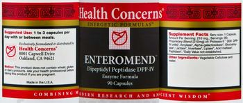 Health Concerns Enteromend -