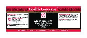 Health Concerns Greenexcellent - herbal supplement