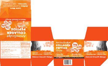 Health Direct AminoSculpt Collagen Peptide Shots Smooth Mango - supplement