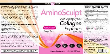 Health Direct AminoSculpt Natural Cherry Sugar-Free -