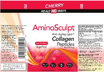 Health Direct AminoSculpt Natural Cherry Sugar-Free - supplement