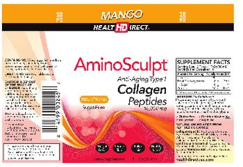 Health Direct AminoSculpt Natural Mango Sugar-Free - supplement