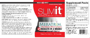 Health Direct SLIMit - supplement