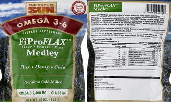 Health From The Sun FiProFlax Medley - supplement