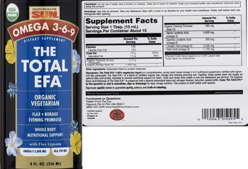 Health From The Sun The Total EFA - supplement