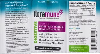 HEALTH LOGICS Floramune - supplement