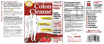 Health PLUS Inc Colon Cleanse Refreshing Strawberry Flavor - bulk forming supplement