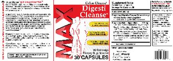 Health PLUS Inc MAX Colon Cleanse Digesti Cleanse - supplement