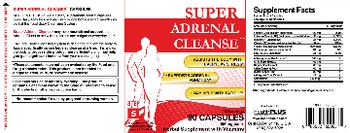 Health PLUS Inc Super Adrenal Cleanse - herbal supplement with vitamins