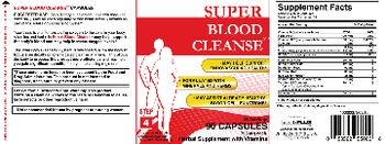 Health PLUS Inc Super Blood Cleanse - herbal supplement with vitamins