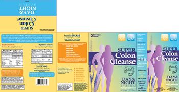 Health PLUS Inc Super Colon Cleanse Day & Night System Daytime Formula - supplement