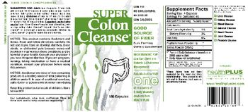 Health PLUS Inc Super Colon Cleanse - supplement