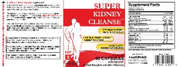 Health PLUS Inc Super Kidney Cleanse - herbal supplement with vitamins