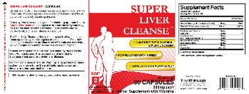 Health PLUS Inc Super Liver Cleanse - herbal supplement with vitamins