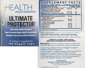 HEALTH PRODUCTS DISTRIBUTORS INC. Ultimate Protector - supplement