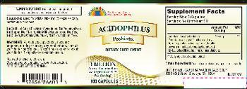 Health Star Acidophilus Probiotic - supplement